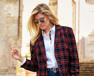 Elegante kleider mit jacke grosse grossen