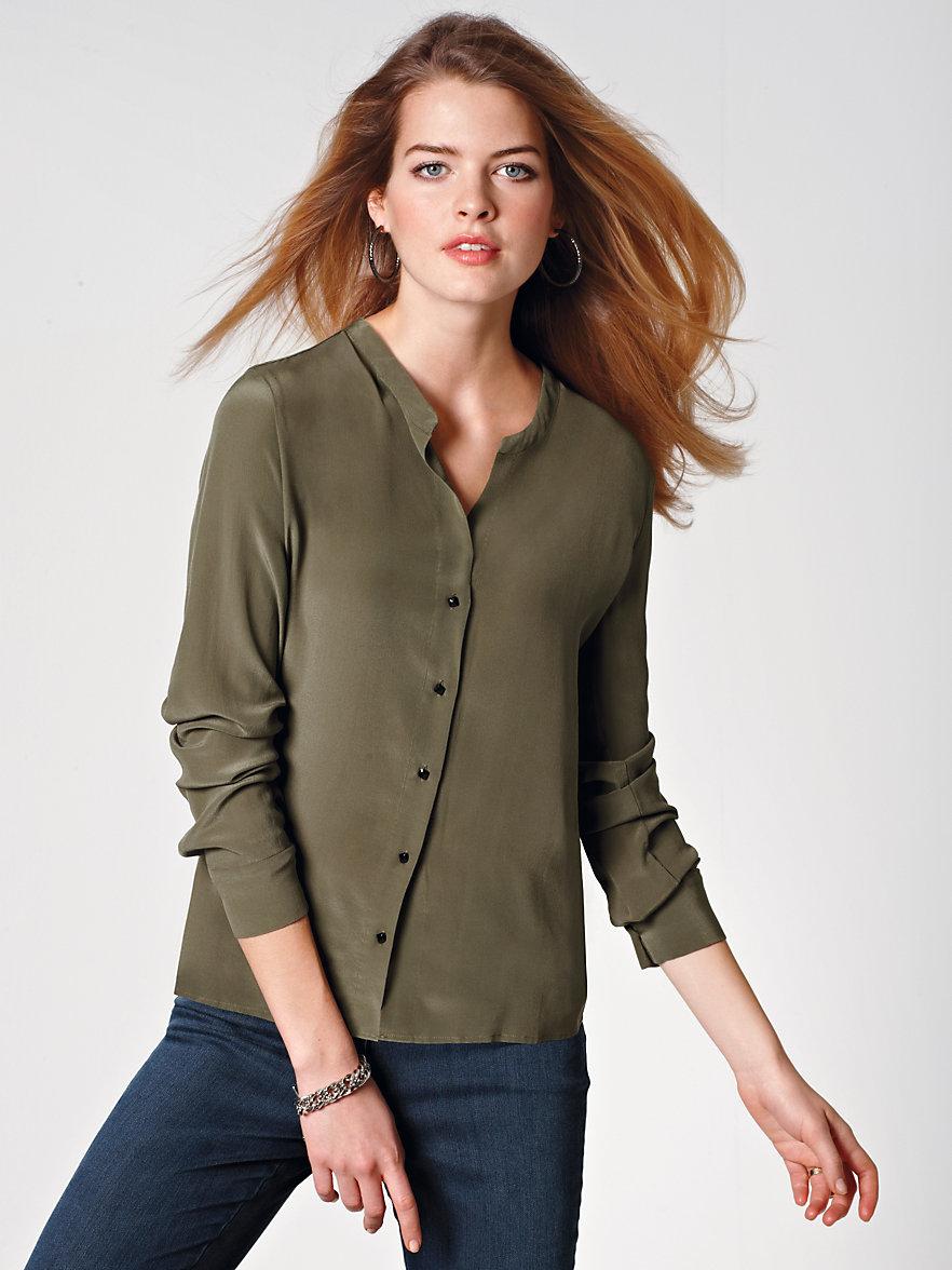 chemise en soie femme gallery of blouse soie femme with chemise en soie femme free chemise. Black Bedroom Furniture Sets. Home Design Ideas