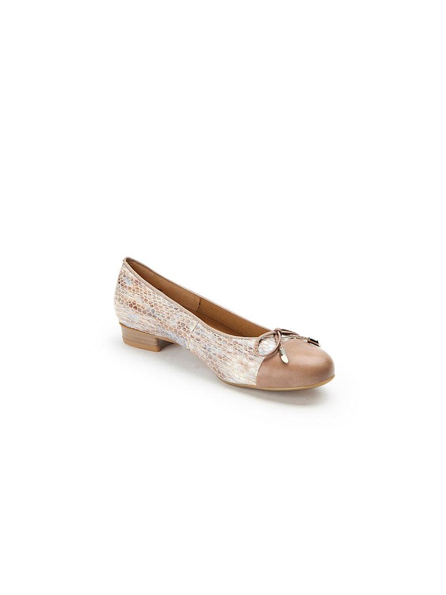 Ballerina aus 100% Leder ARA beige Ara Klassische Online ct8Gtj