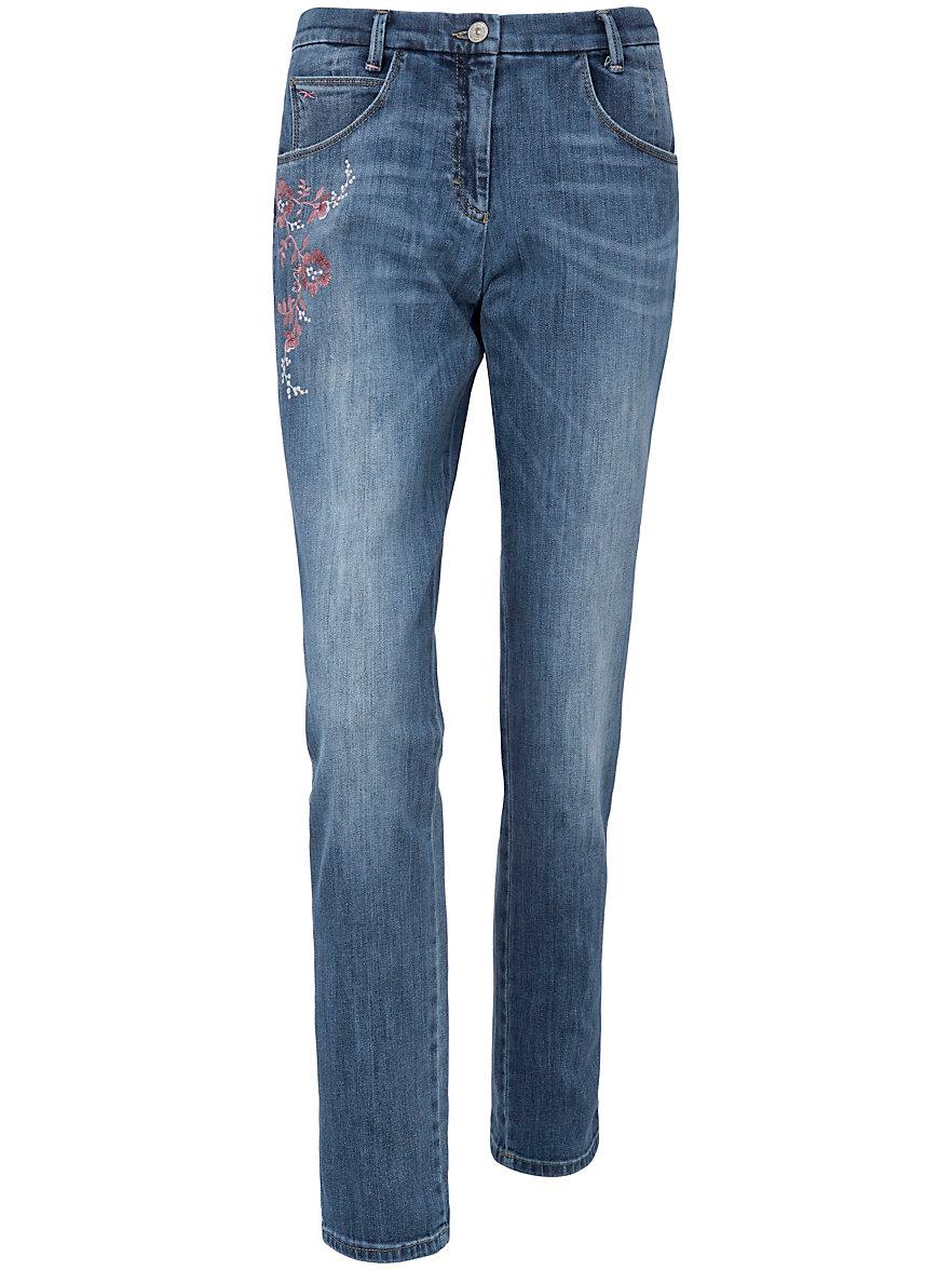 Große Größen - Jeans Modell MONTANA FLOWER Modern Fit Brax klJwxqzV