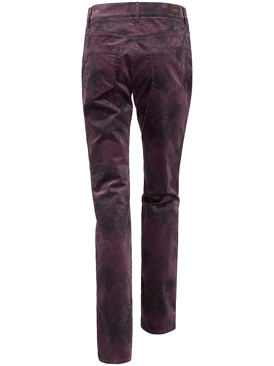Brax Le pantalon imprimé en velours Slim Fit Feel Good aZRPn