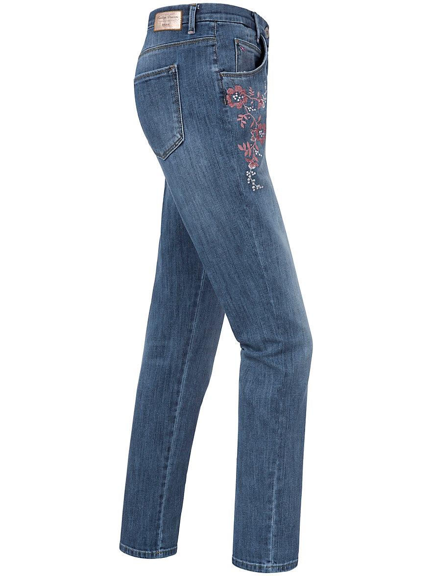 Modern Fit jeans - Design MONTANA FLOWER Brax Feel Good denim Brax YEjvsFE