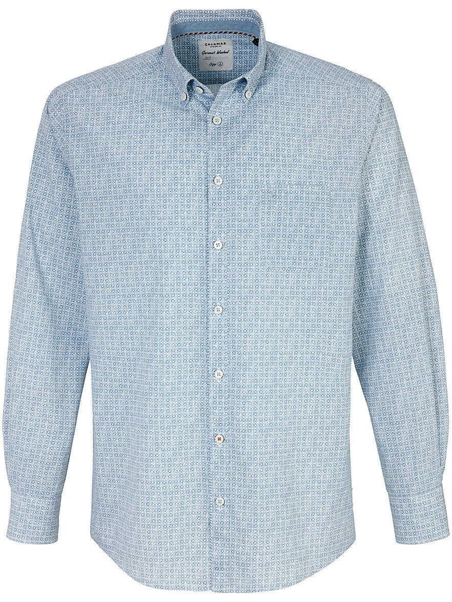 Calamar Fit Modern Bleu Fit Overhemd Calamar Bleu Modern Overhemd nwOZ0N8kXP