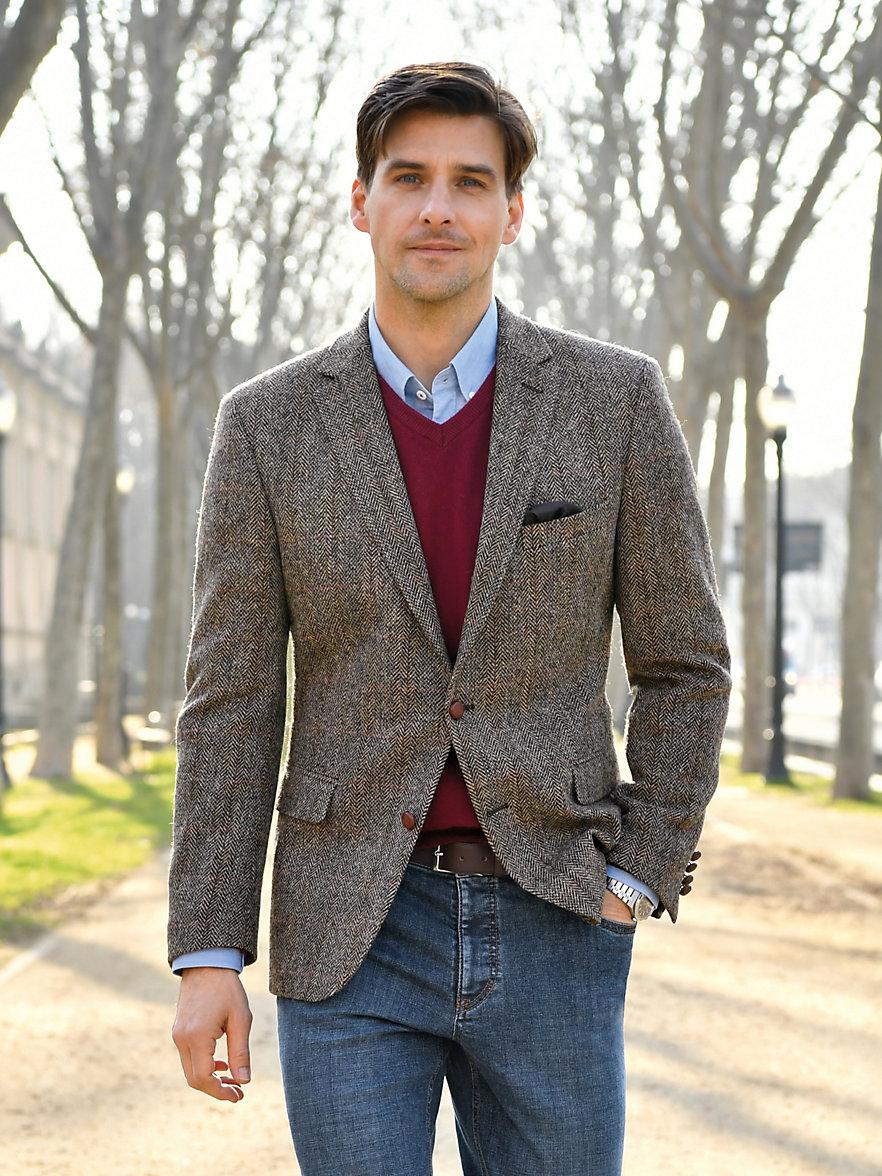 veste harris tweed homme en solde les vestes la mode sont populaires partout dans le monde. Black Bedroom Furniture Sets. Home Design Ideas