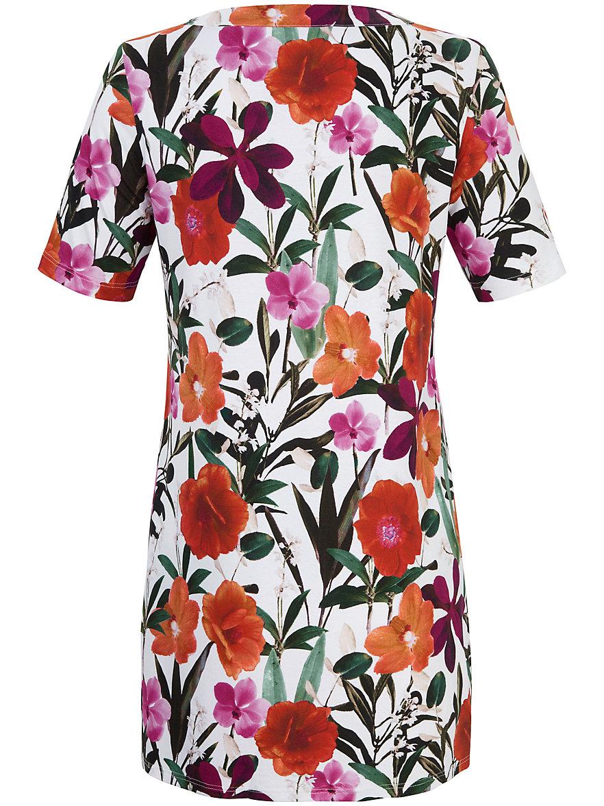 Emilia Lay Le T-shirt long imprimé, ligne décontractée