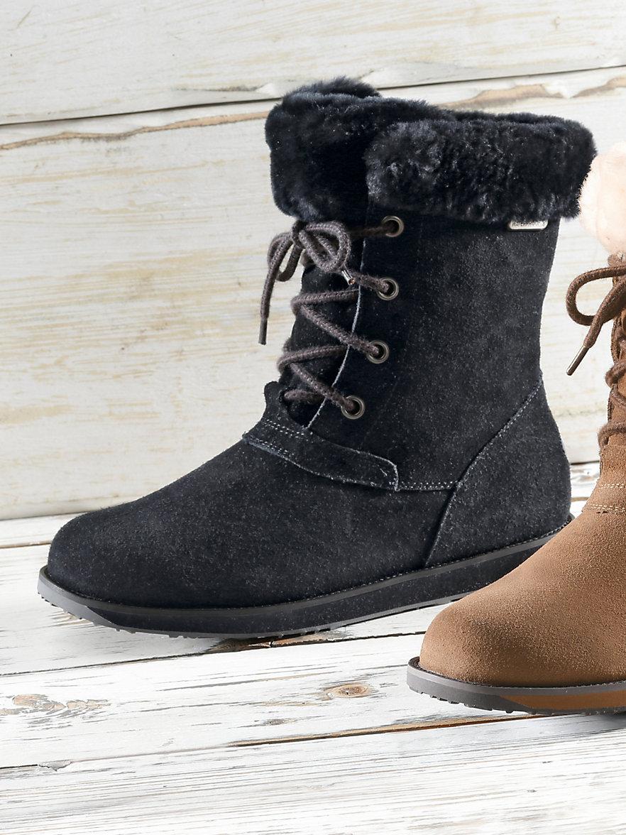 emu-les bottes-noir