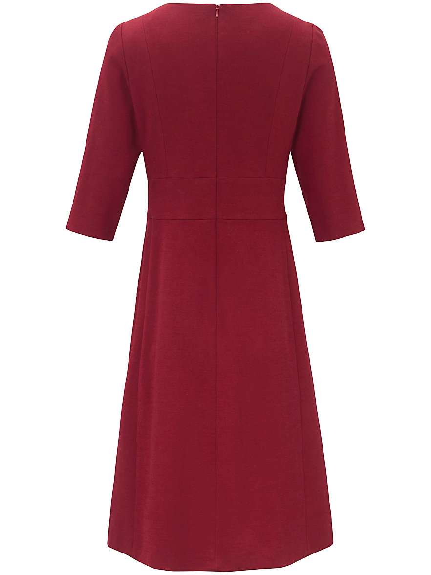 Jersey dress 3/4-length vented sleeves Fadenmeister Berlin red Fadenmeister Berlin