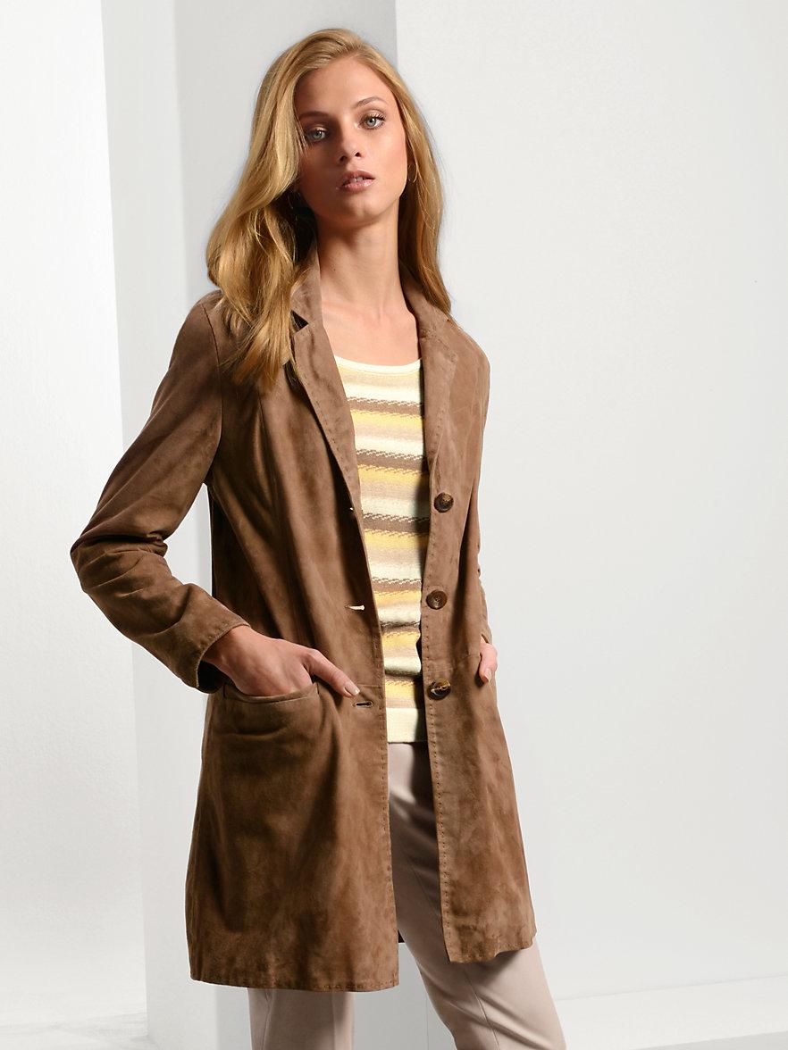 Manteau cuir femme haut de gamme