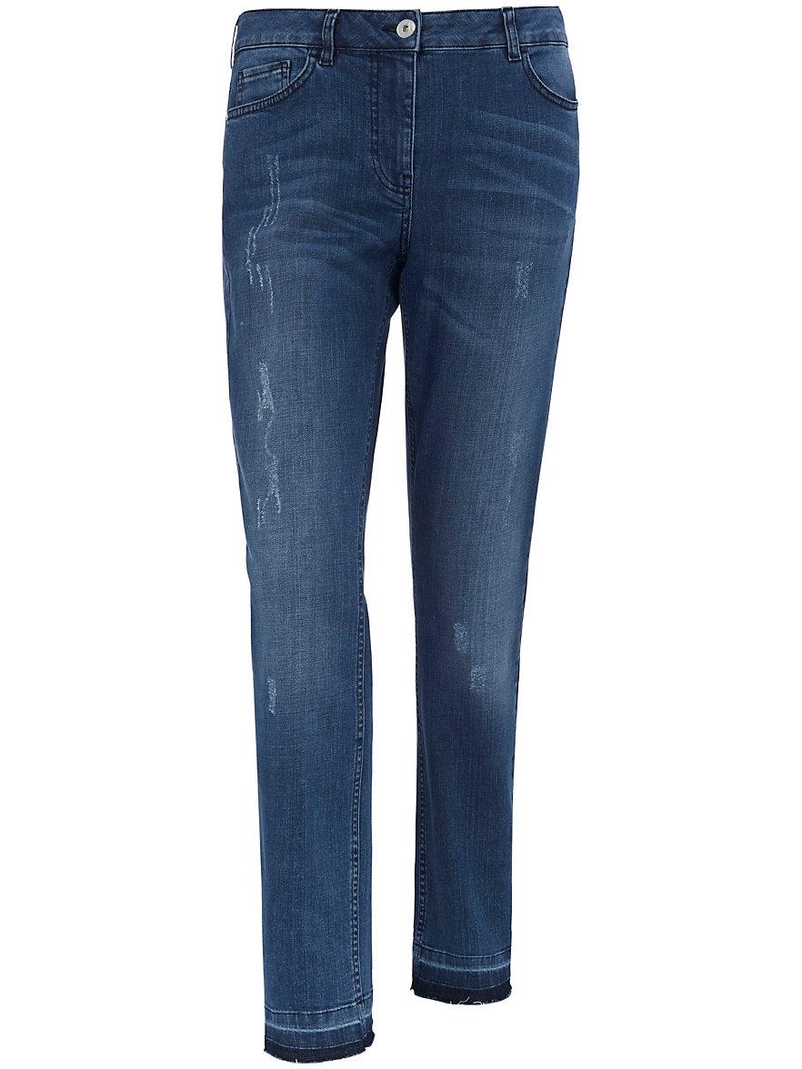 Ankle-length jeans FRAPP blue Frapp HOnOpg0