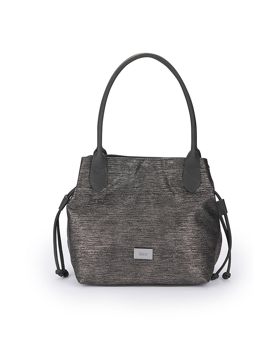 Tasche in Metallic-Optik Gabor Bags schwarz Gabor NFh2MLs