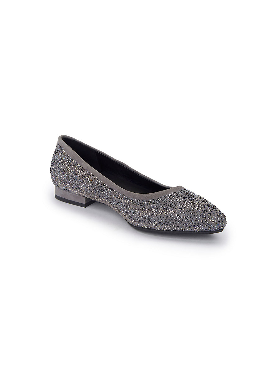 Ballerina pumps made of 100% leather Gerry Weber grey Gerry Weber Zj1gpO