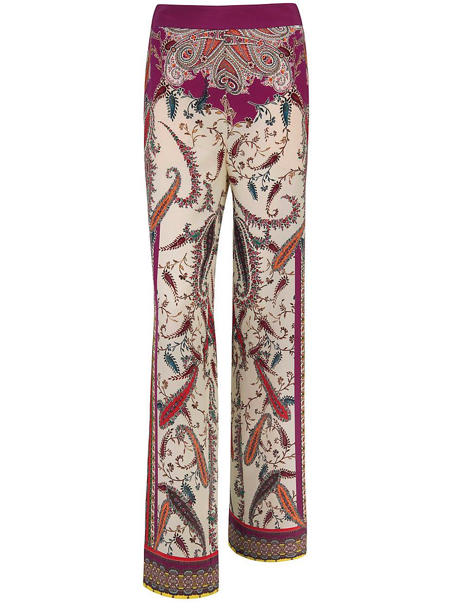 Pantalon À 100% Soie Laura Biagiotti Donna Multicolores Laura Biagiotti Donna U0U9iv7