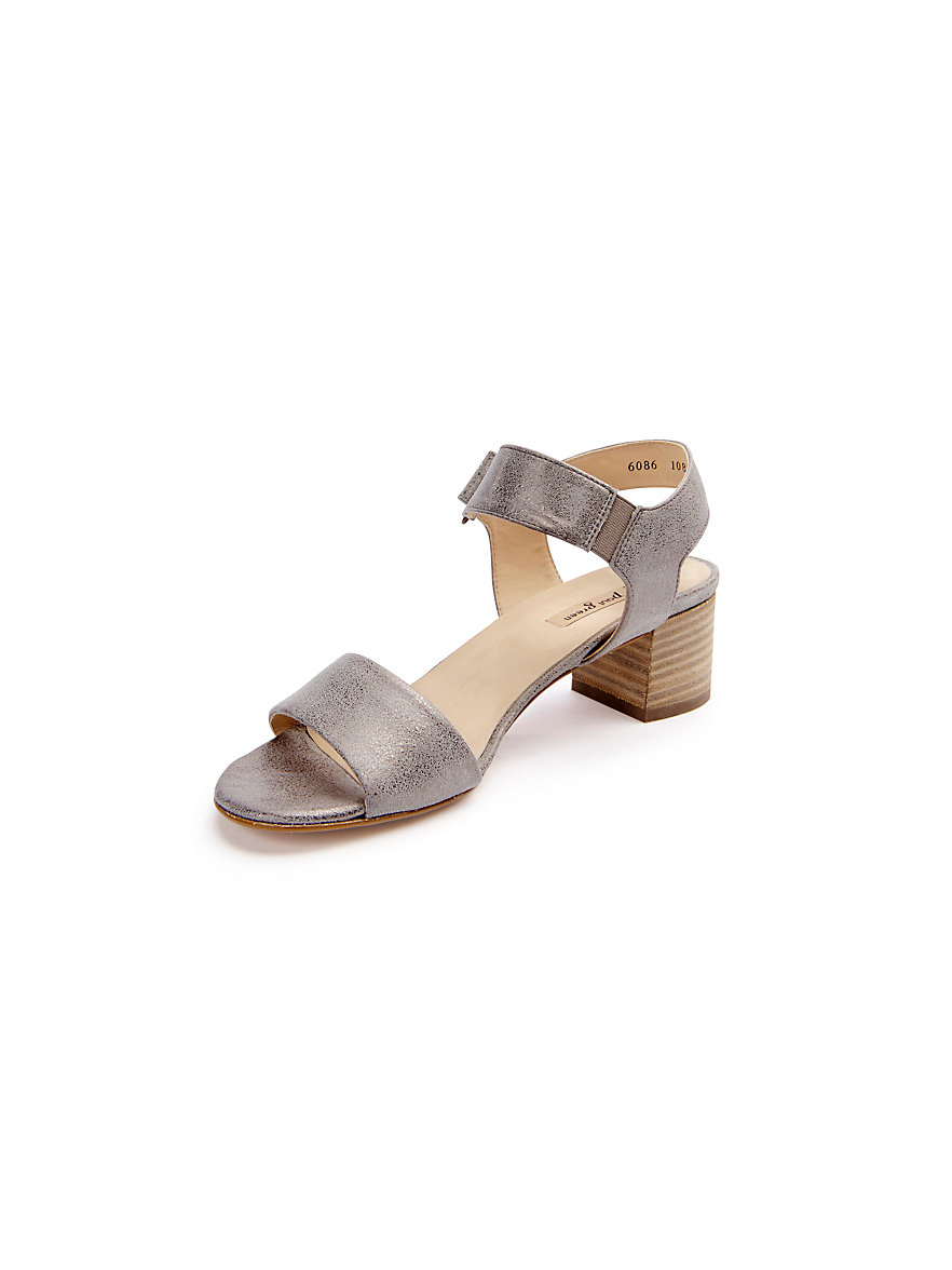 huge inventory later huge selection of Paul Green-Sandalen-taupe-metallic