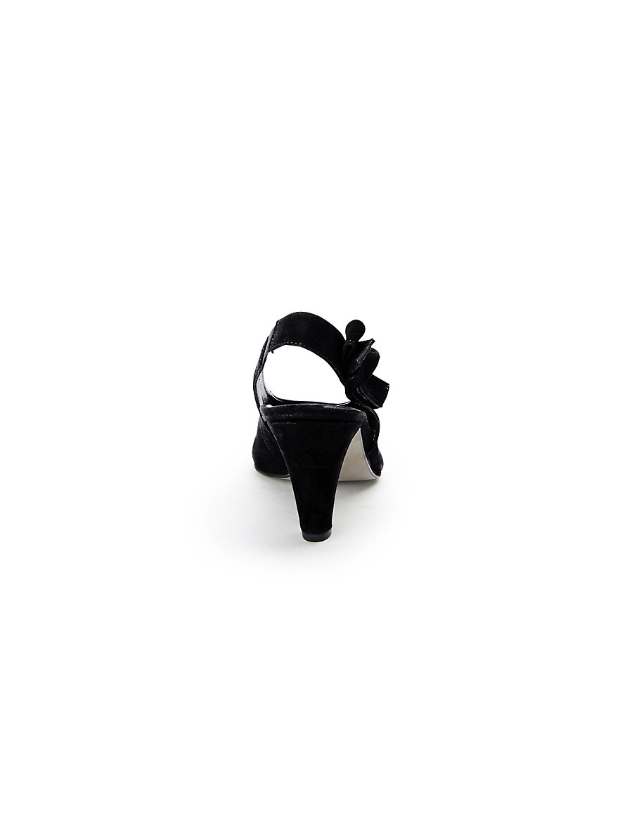 Sling-Pumps aus 100% Leder Paul Green schwarz qMZs3R