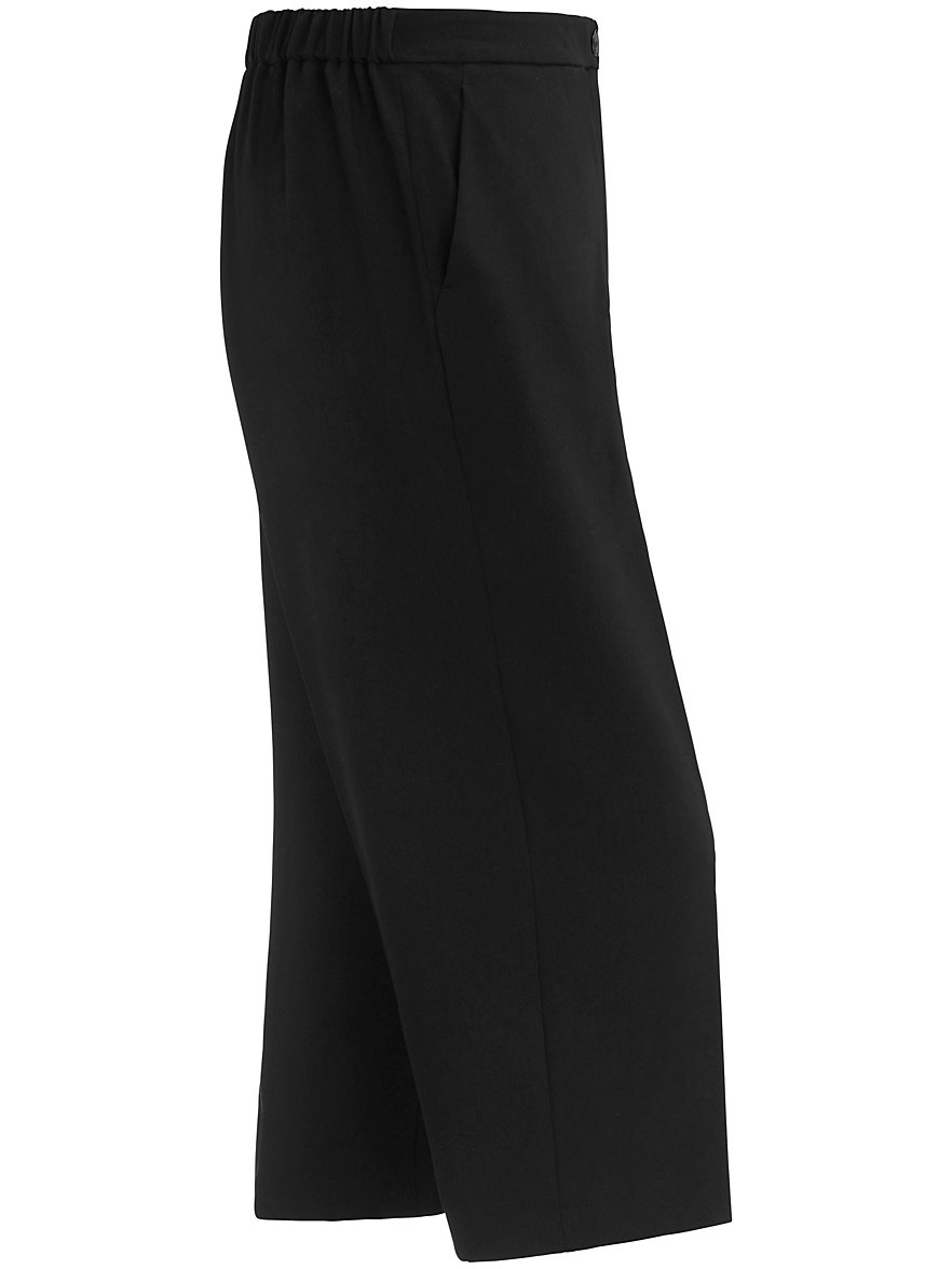 Wide trousers - ROMEO Persona by Marina Rinaldi black Persona by Marina Rinaldi lRExG