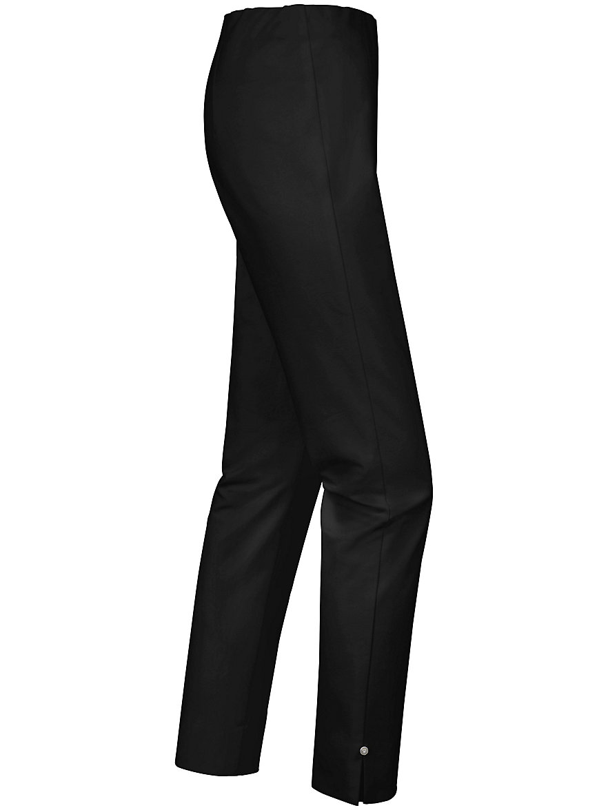 Ankle-length slip-on trousers - SYLVIA fit Peter Hahn black Peter Hahn rHeFb1yM