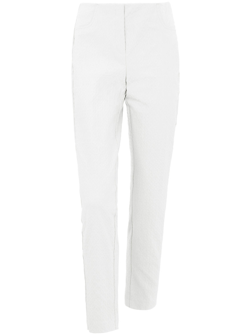 Ankle-length trousers - SYLVIA fit Peter Hahn white Peter Hahn EENxh