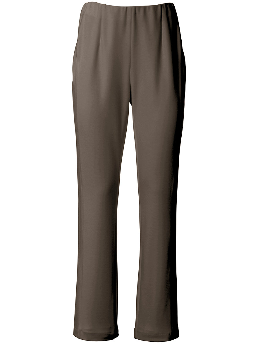Outlet Latest Collections Clearance 2018 Jersey trousers design Malve in Sylvia fit Peter Hahn black Peter Hahn How Much Online Clearance Sale Clearance Brand New Unisex RPhrZ5OM