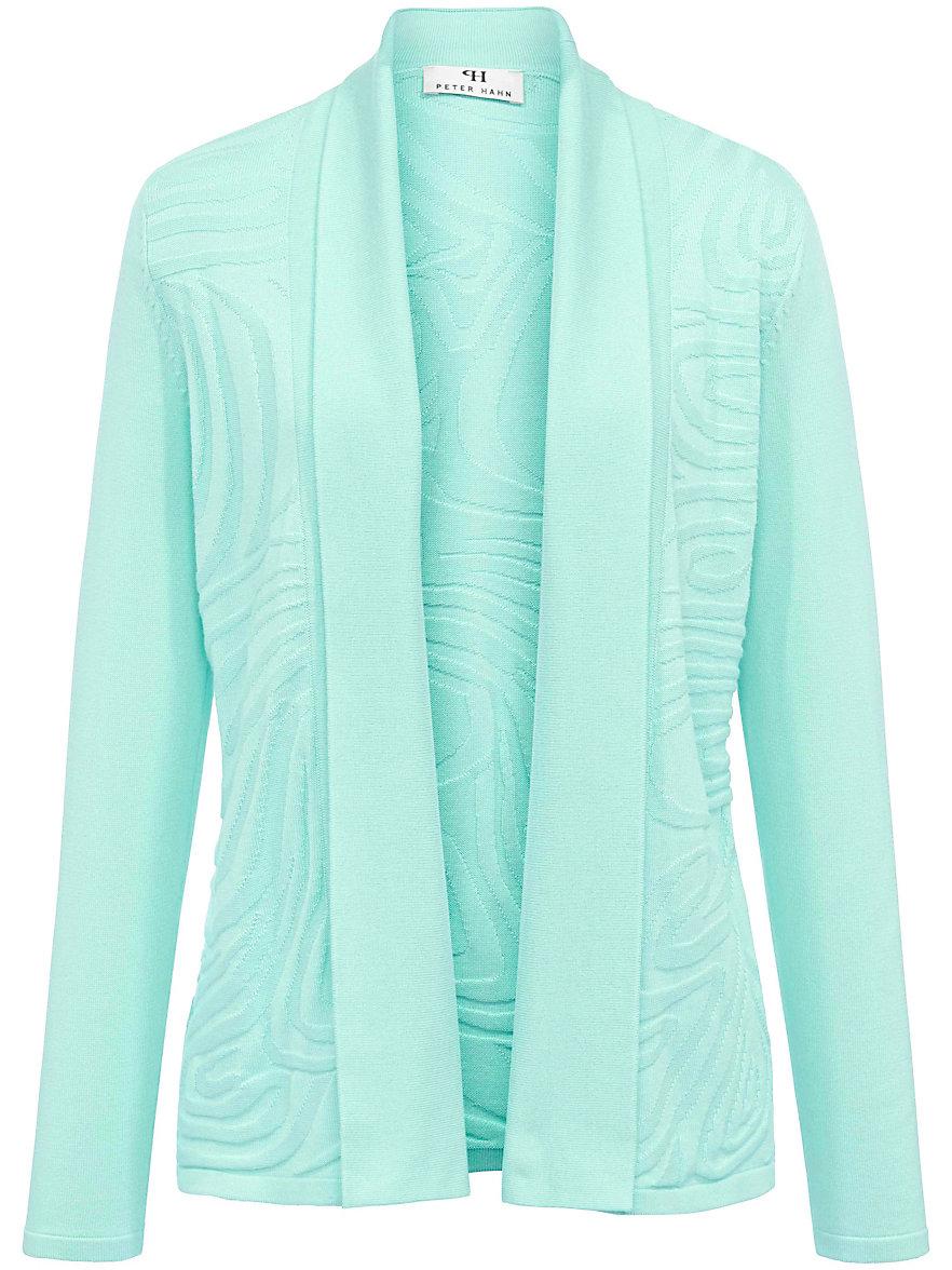 Peter Hahn La veste en maille turquoise uCzov0Huk