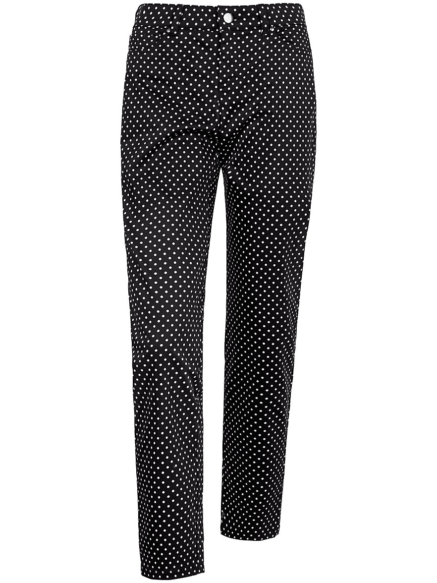 Peter Hahn Le pantalon en coton stretch, coupe BARBARA