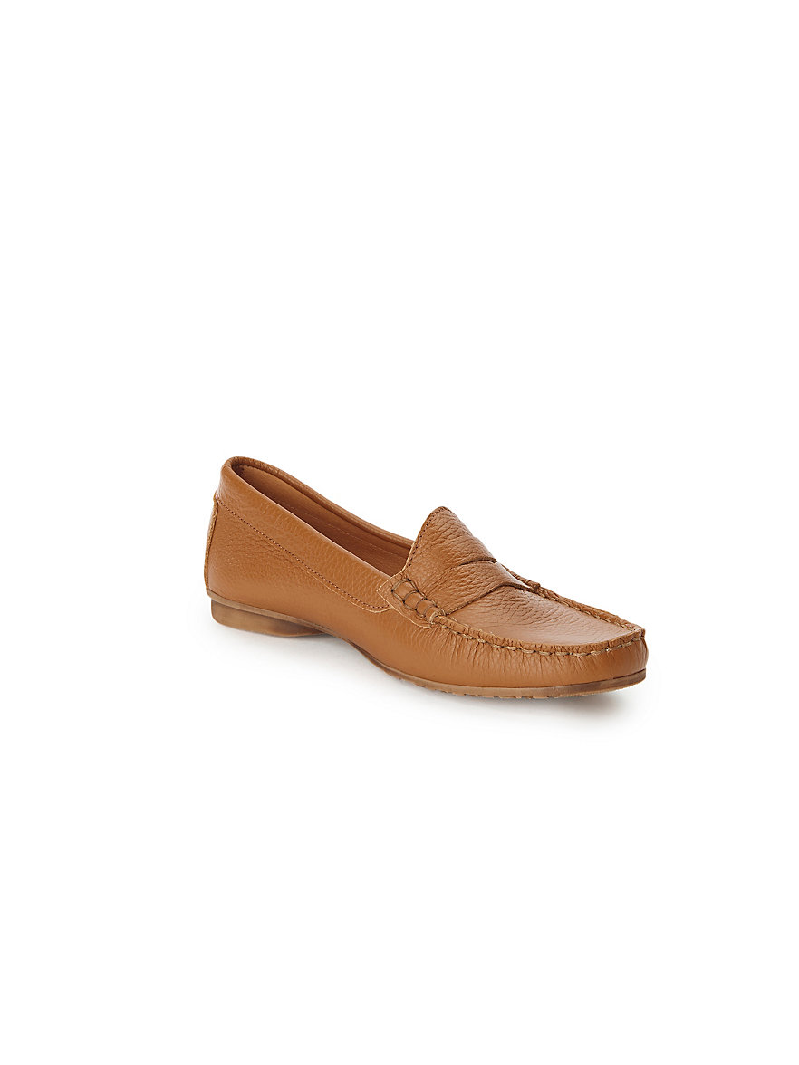 Moccasins in 100% leather Peter Hahn beige Peter Hahn Sale Wide Range Of Visit New Perfect Cheap Online Cheap Sale Nicekicks G4IHiU