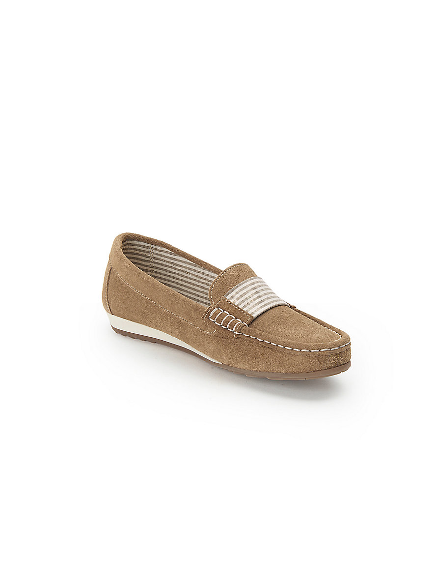 Moccasins in 100% leather Peter Hahn beige Peter Hahn TaCuOFF30D