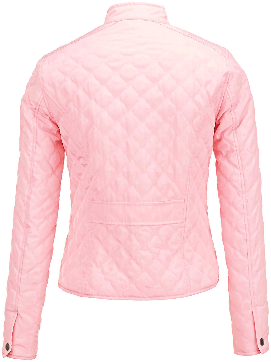 Peter Hahn-Quilted jacket-pale pink