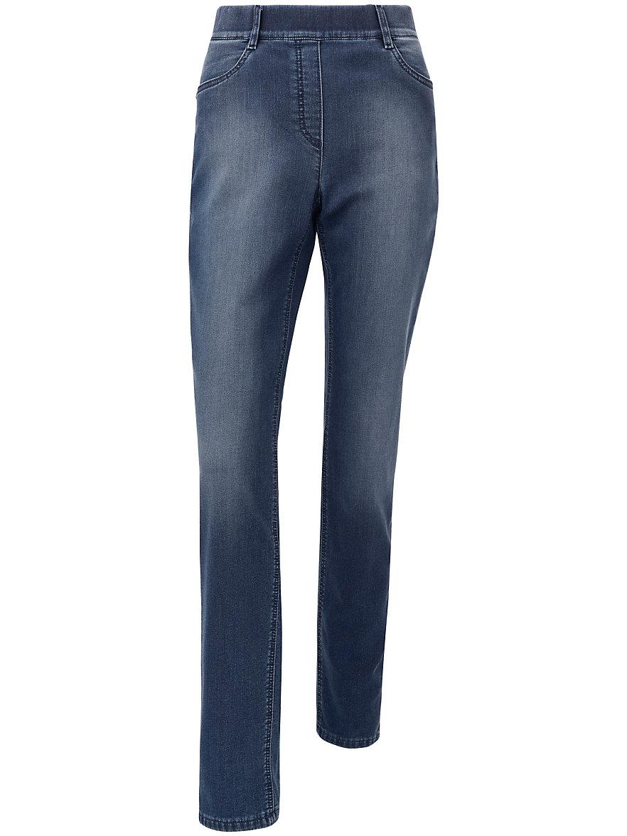 Große Größen - Schlupf-Sweat-Jeans Peter Hahn vJqnNBHx