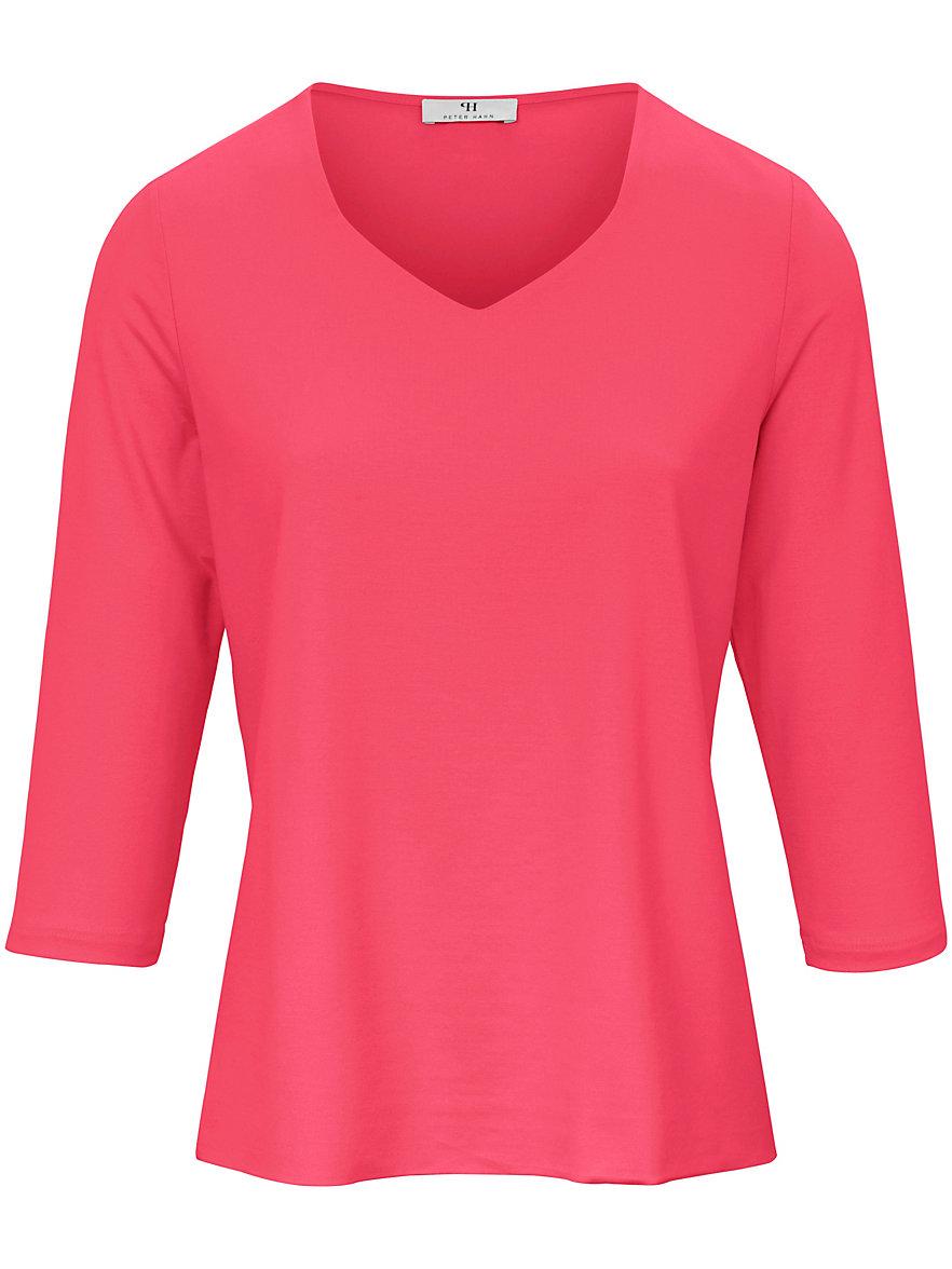 Long-Shirt 3/4-Arm Green Cotton weiss Peter Hahn jqy5Kn
