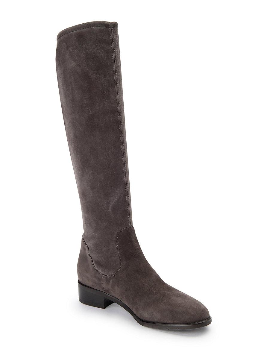 Peter Kaiser - Langschaft-Schlupf-Stiefel Heta aus 100% Leder - Carbon 4da2b33ef4