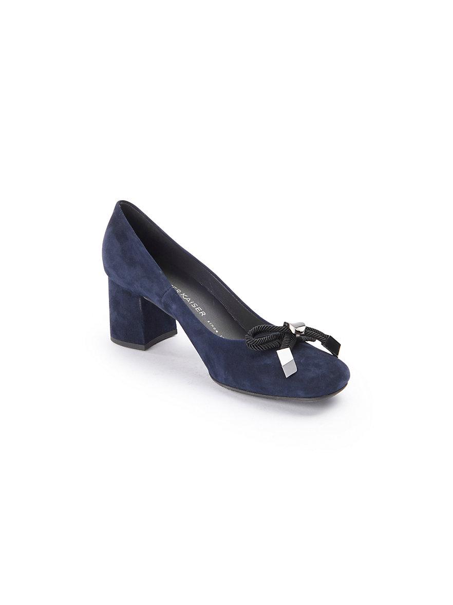 PETER KAISER' ALA 'femmes bleu/gris 100% cuir imprimé motif serpent chaussures B3IfIGld