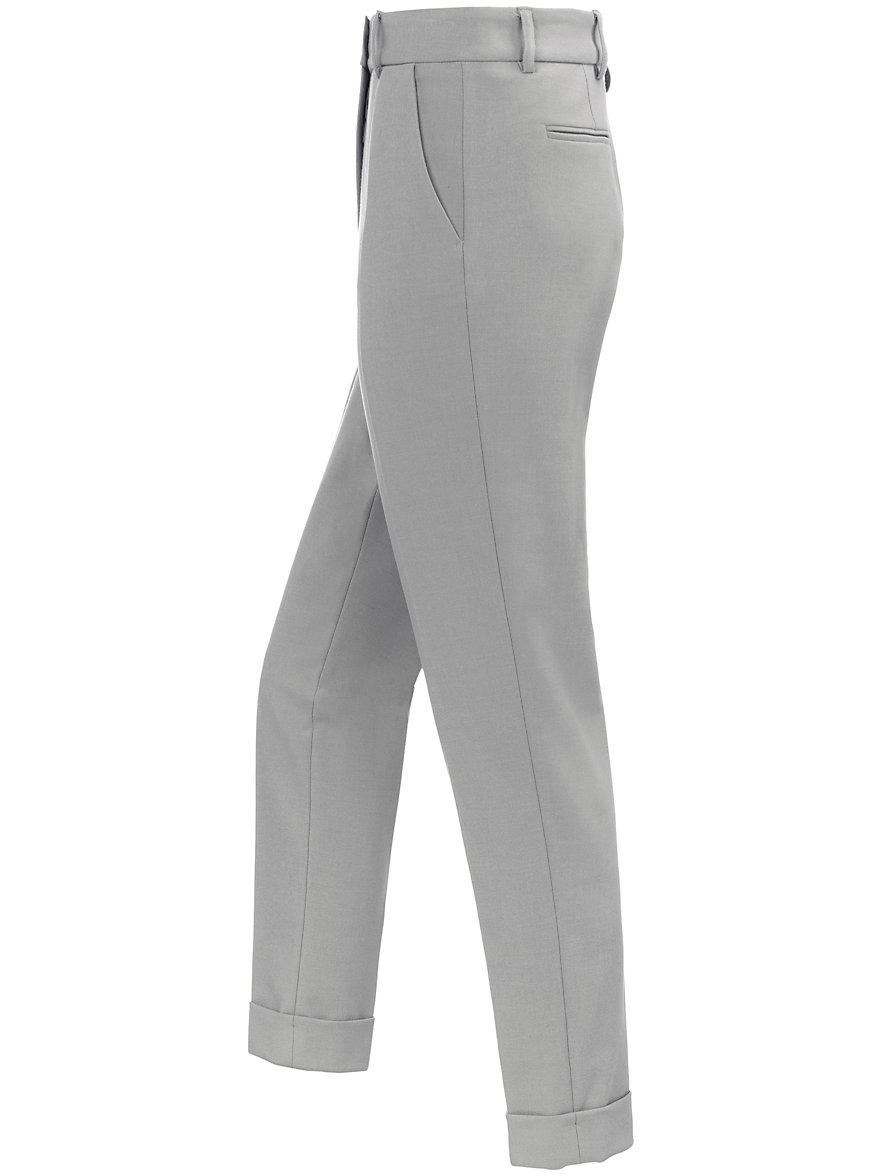 Ankle-length flannel trousers design Dora Raffaello Rossi grey Raffaello Rossi AgNARI5v