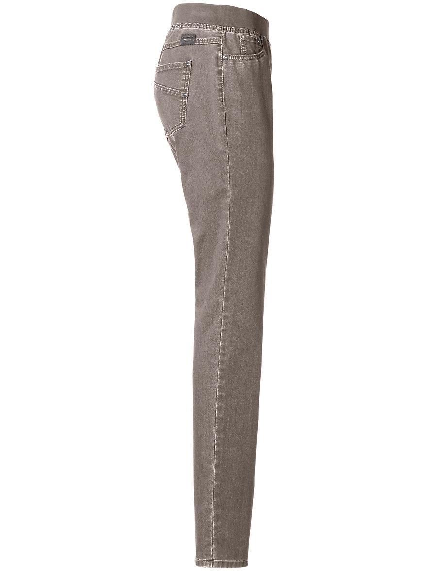 ProForm Slim pull-on trousers design Pamina Raphaela by Brax beige Brax jU7UG94
