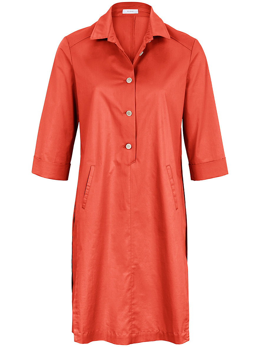 Dress 3/4-length turn-up sleeves Riani orange Riani Clearance Professional Cheap Sale Explore Footlocker Finishline pGpbgTo3HS