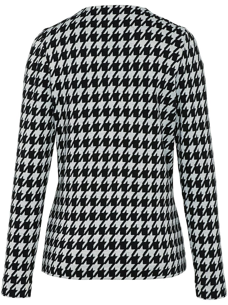 Große Größen - Jersey-Jacke mit Rundhals-Ausschnitt Rössler Selection Gute Qualität Klassisch CCLvK