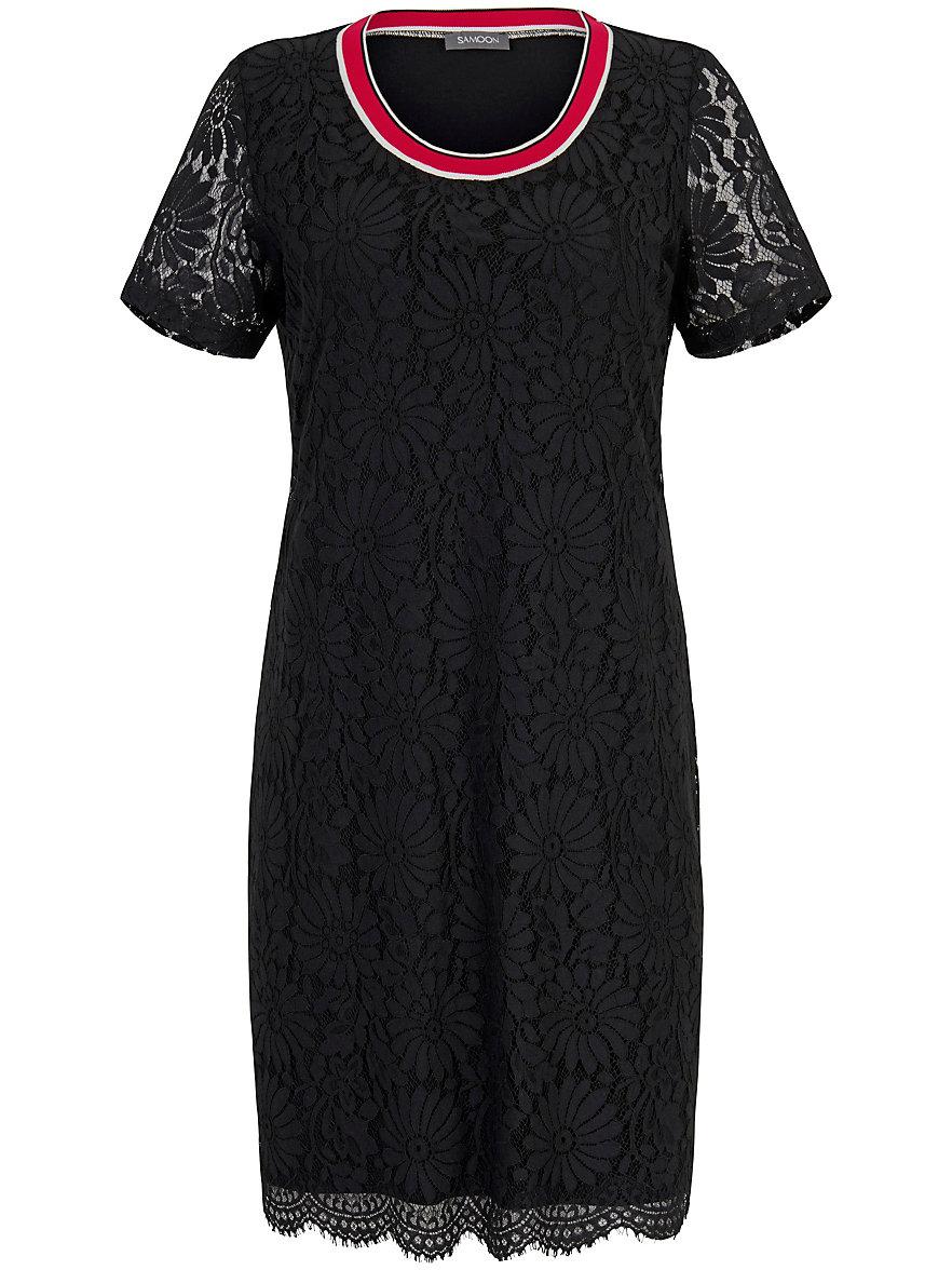 Dress short sleeves Samoon black Samoon xFZgMgmwf
