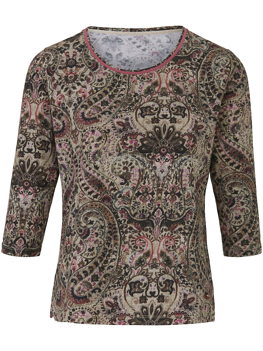 Cheap Sale Pictures Round neck top 3/4-length sleeves Schneiders Salzburg multicoloured Schneiders Free Shipping Good Selling Sale Online Cheap Quality Original 5UVtXII7q1