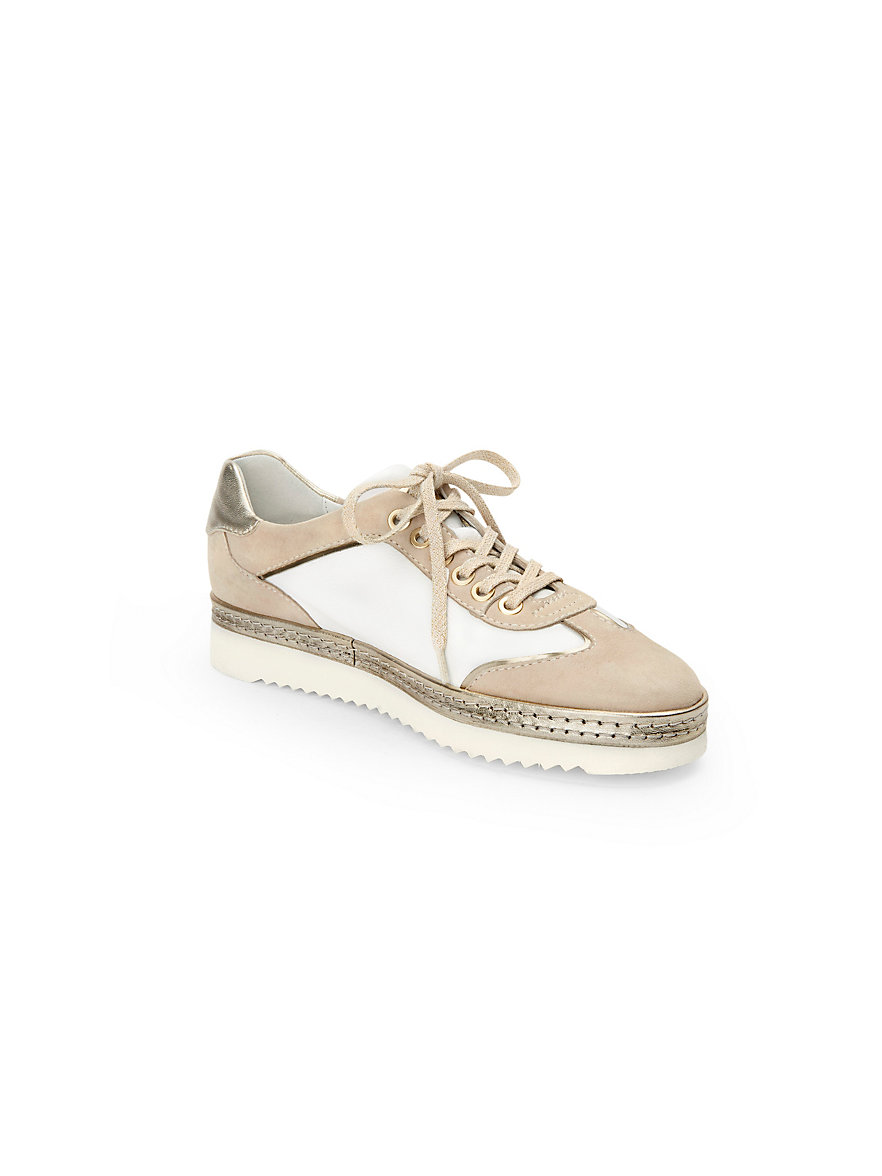 Oxiria sneakers in 100% leather Sioux beige Sioux Discount Good Selling 1YauVD