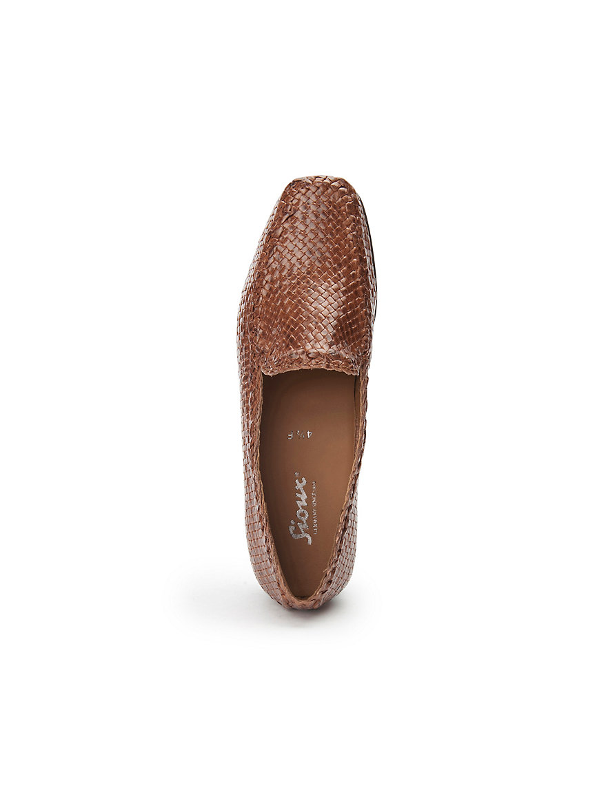 Plaited loafers Cordera Sioux brown Sioux BRUEDz
