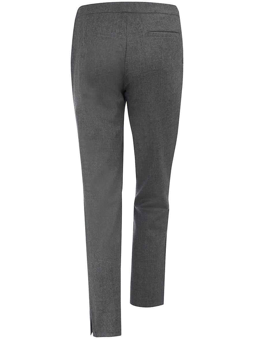 Ankle-length trousers little waist pleats St. Emile grey St. Emile PPYicKM
