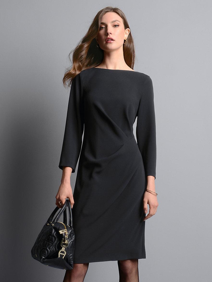 Strenesse-Kleid mit 3/4 Arm-Schwarz