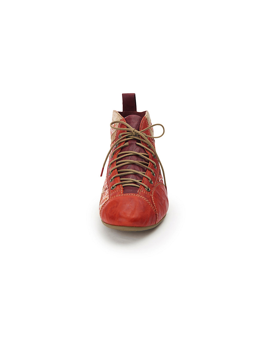 a26ce1210d9a3a Rabatt Billig Original Günstig Online Schnür-Stiefelette Guad aus 100%  Leder Think rot Billig
