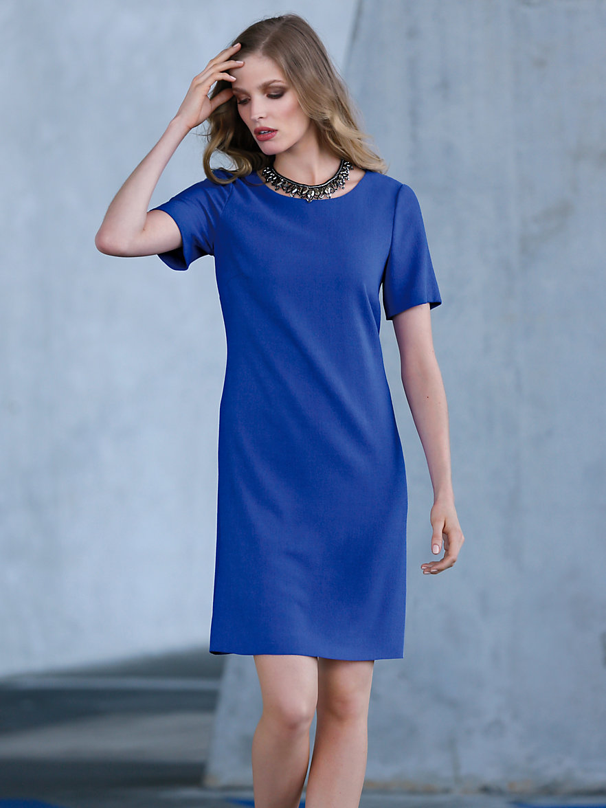 Kleid in royal blau