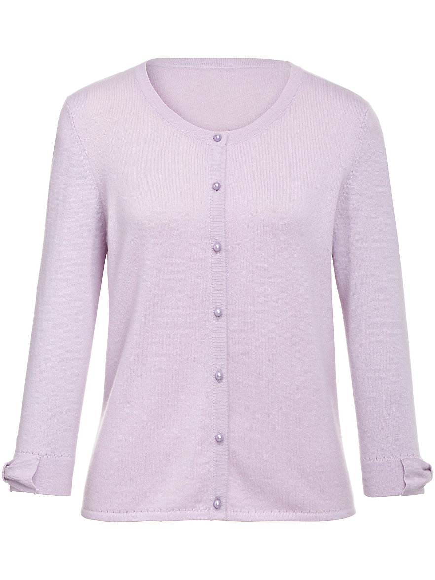 Uta Raasch-Pure cashmere cardigan-lilac