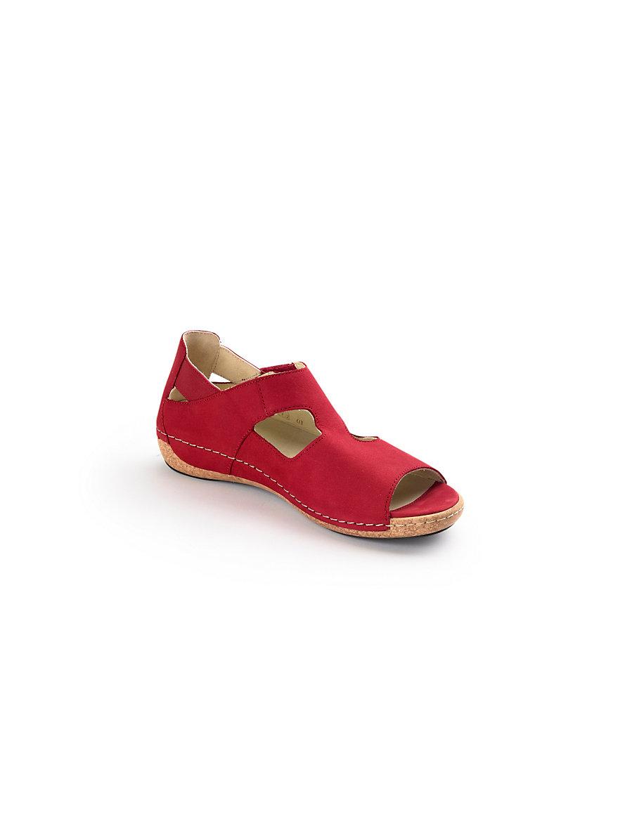 Les sandales en cuir, modèle HELIETT Waldläufer noir