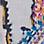 zilvergrijs/multicolour-854334