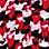 Rød/marine/multicolor-934649
