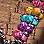 Schwarz/Multicolor-259309