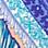 Blau/Weiß-260489