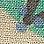 écru/turquoise/multicolore-392977